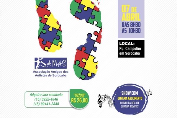 11ª Caminhada pela Conscientização do Autismo